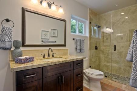Houston Bathroom Remodel by Premium Cabinets Houston, LLC.